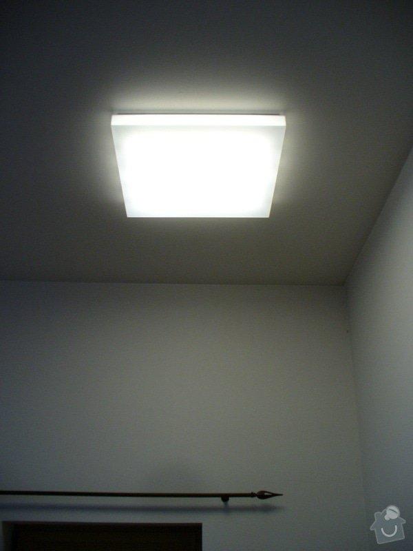 Kompletni interierove osvetleni do rodinneho domu: P1050874