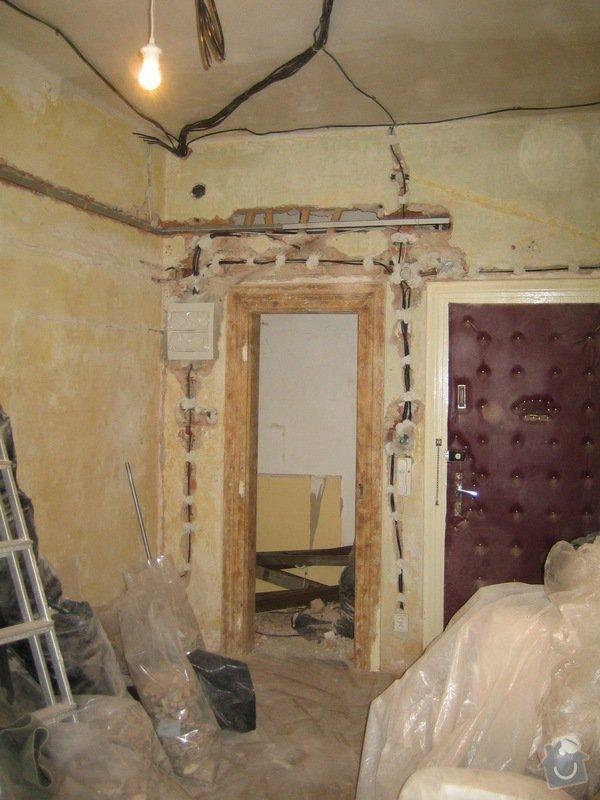 Generální rekonstrukce bytu v činžovním domě: IMG_5858