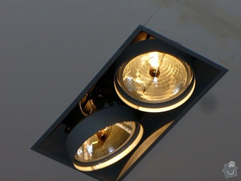 Kompletni interierove osvetleni do rodinneho domu: P1050878