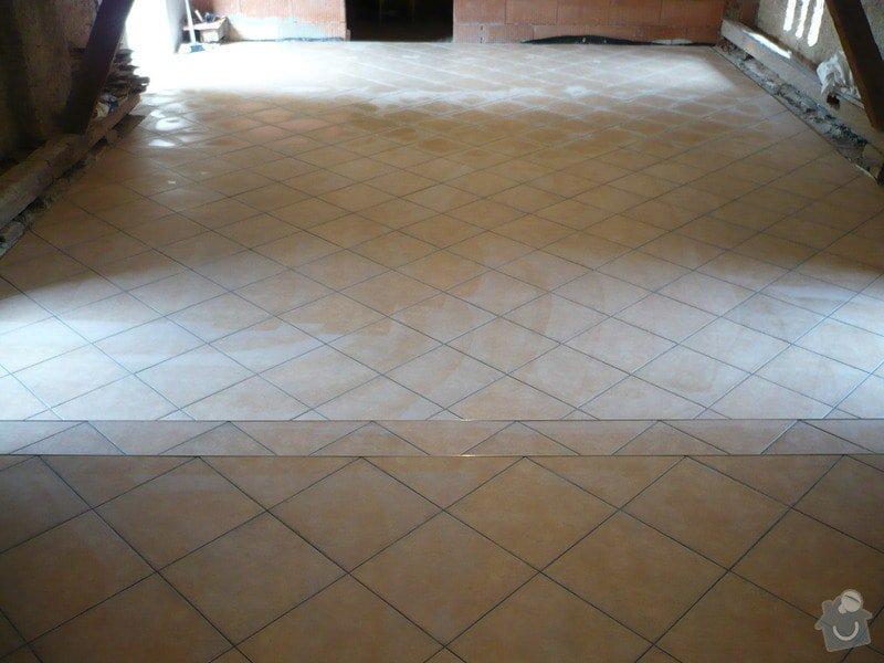 Zhotovení SDK a keramické dlažby.: P1030685