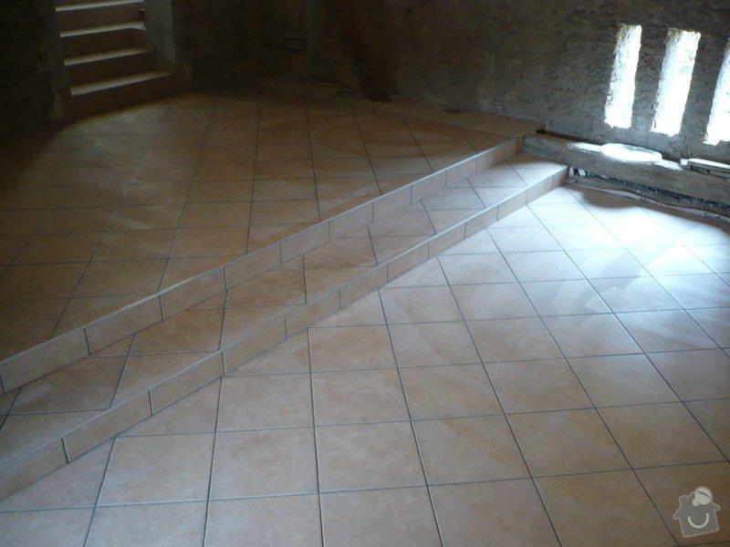 Zhotovení SDK a keramické dlažby.: P1030682