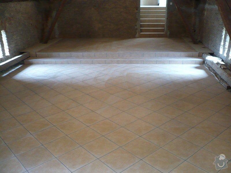Zhotovení SDK a keramické dlažby.: P1030678