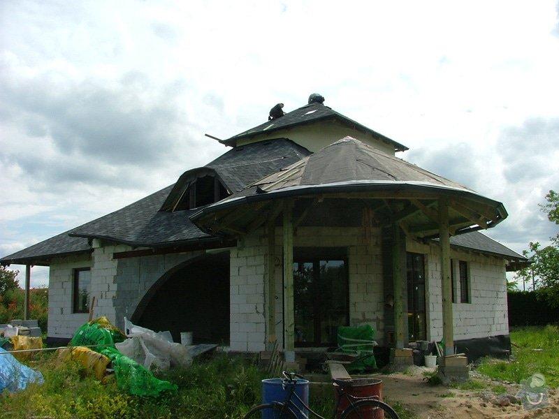Oprava klempířských prací, dokončení střechy: DSCF7090