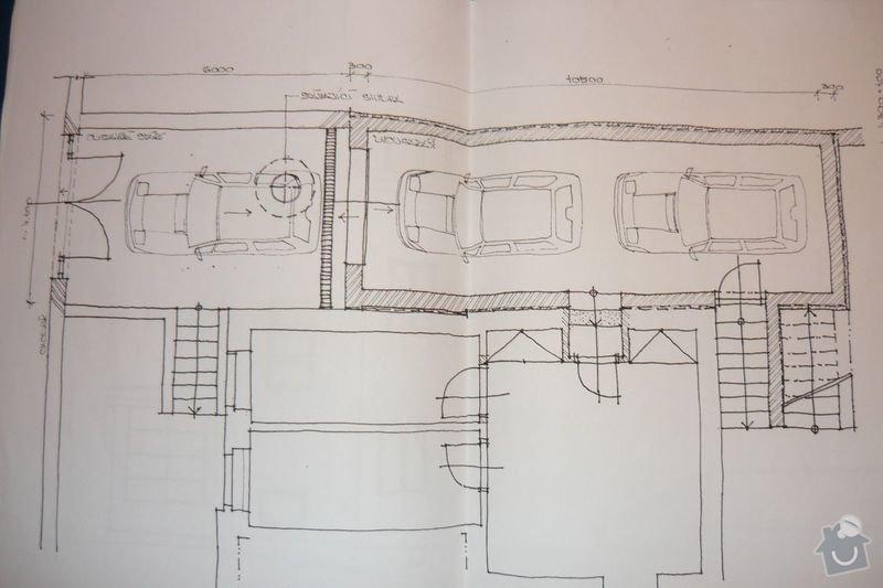 Zemní práce pro garáž: P1030093