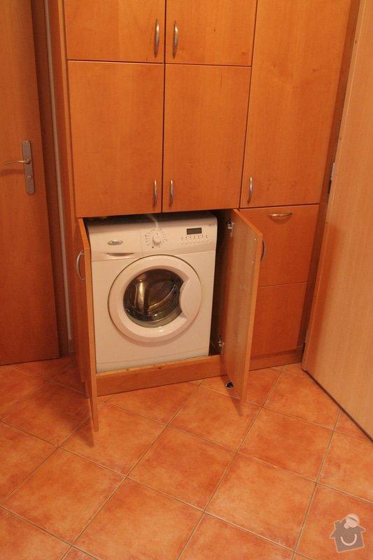 Vestavěná skříň na míru pro pračku: IMG_3868