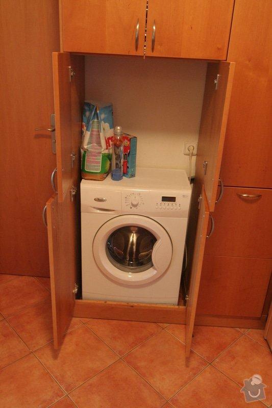 Vestavěná skříň na míru pro pračku: IMG_3869