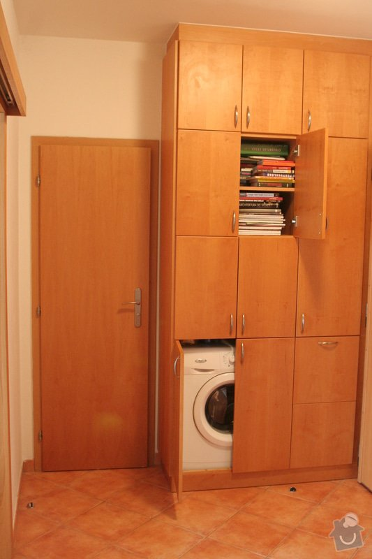 Vestavěná skříň na míru pro pračku: IMG_3875