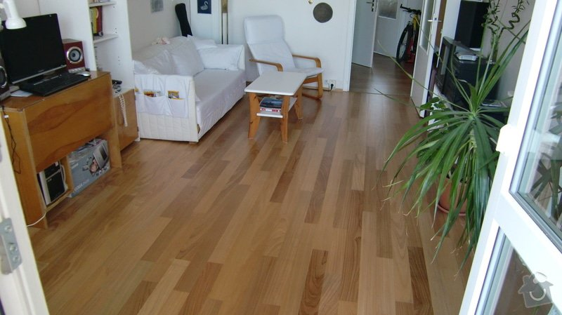 Dřevěná podlaha: CIMG0192