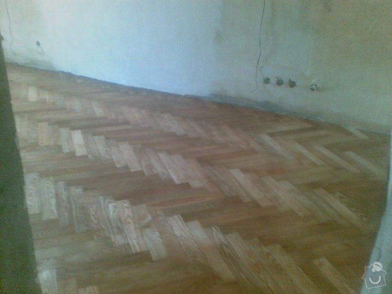 Přebroušení a následné olejování staré jasanové podlahy: 27082010_002_