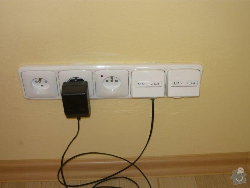Rekonstrukce elektroinstalace a PC sítě: P1010237