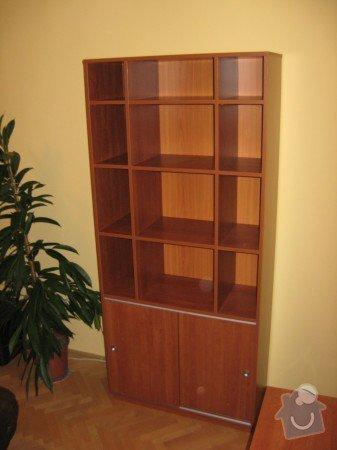 Knihovna s úložným prostorem: Knihovna_LTD_T_e_e_