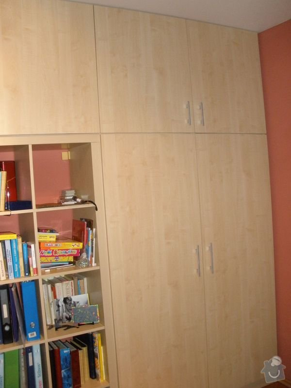 Nábytek na míru - pracovna: PC190114