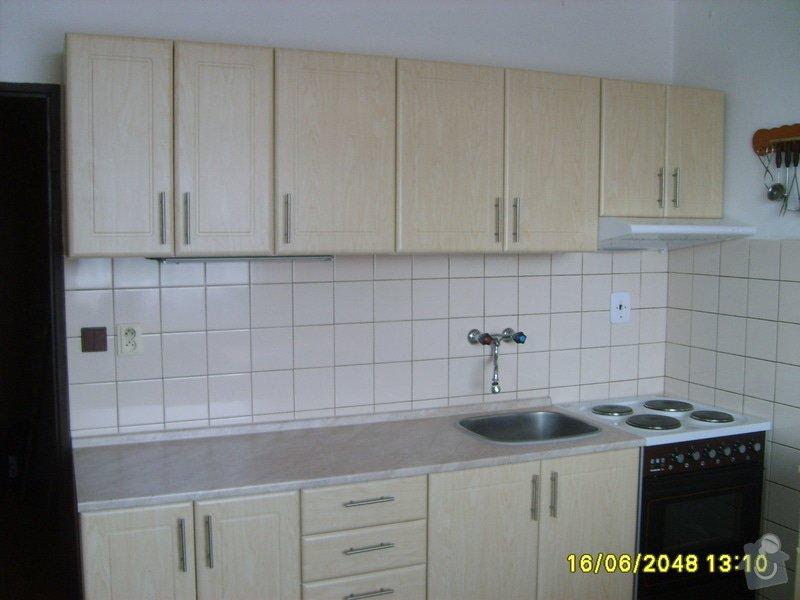 Výroba a montáž kuchyňské linky: S5001537