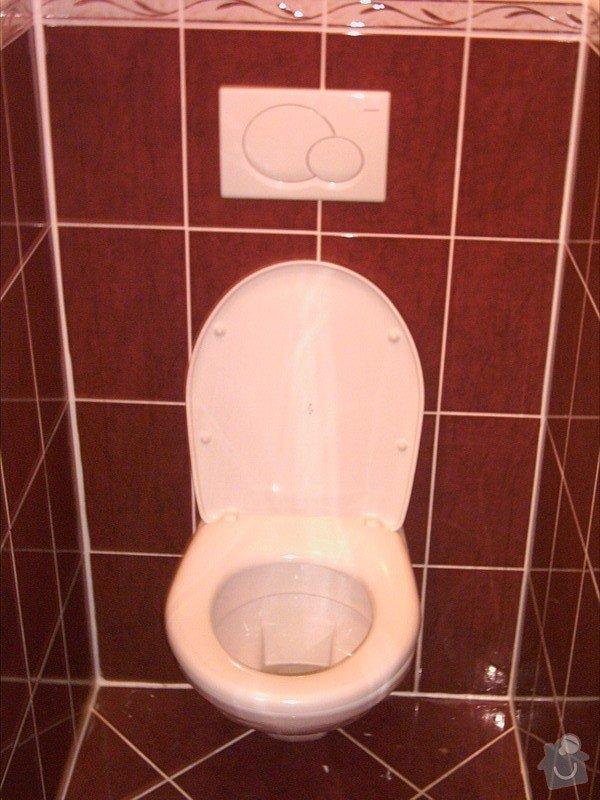 Rekonstrukce byt.jádra: wc