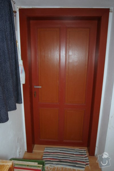 Historická dřevěné okno a dveře na chalupu: druhe_nove_dvere_IMG_7034