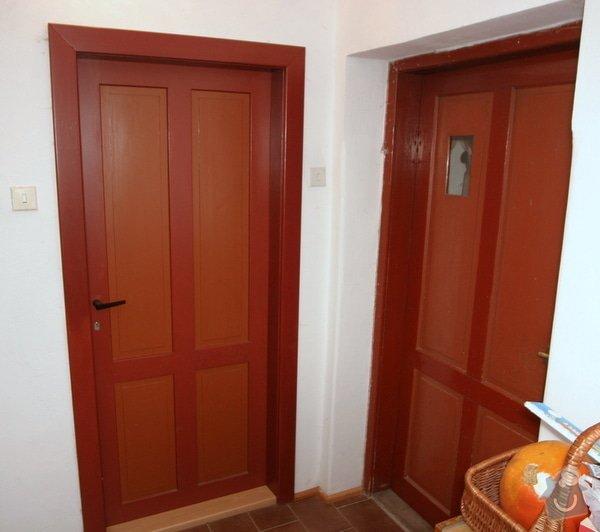Historická dřevěné okno a dveře na chalupu: nove_puvodni_dvere_IMG_7028
