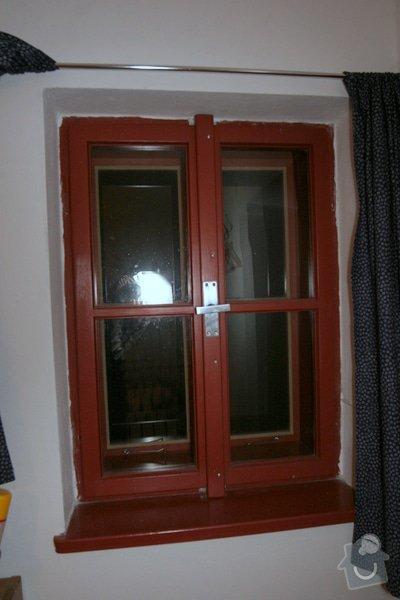 Historická dřevěné okno a dveře na chalupu: okno_IMG_7035