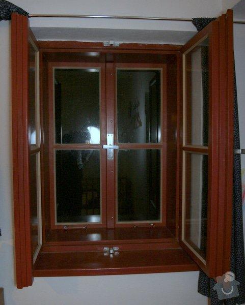 Historická dřevěné okno a dveře na chalupu: okno_IMG_7036
