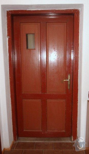 Historická dřevěné okno a dveře na chalupu: puvodni_dvere_IMG_7030