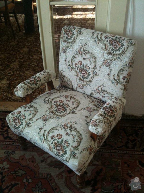 Nové čalounění pro  křesla, chez-long a židle: kreslo-s-novym-calounenim