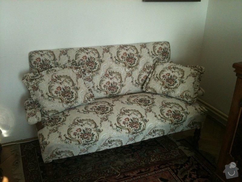 Nové čalounění pro  křesla, chez-long a židle: chez-long