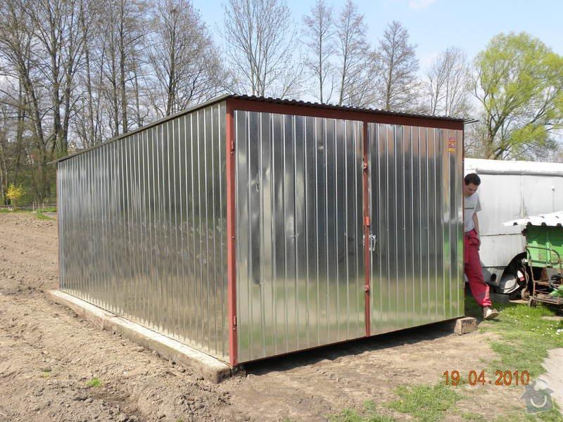Plechová montovaná garáž: DSCN0290