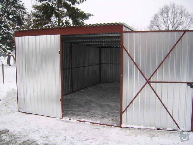 Montovaná plechová garáž 3 x 3 m: SSA42704