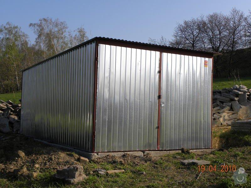 Plechová montovaná garáž 3 x 5 m: DSCN0275
