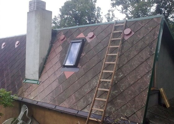 Osazení střešního okna ROTO