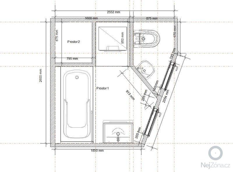 Rekonstrukce koupelny: p_dorys