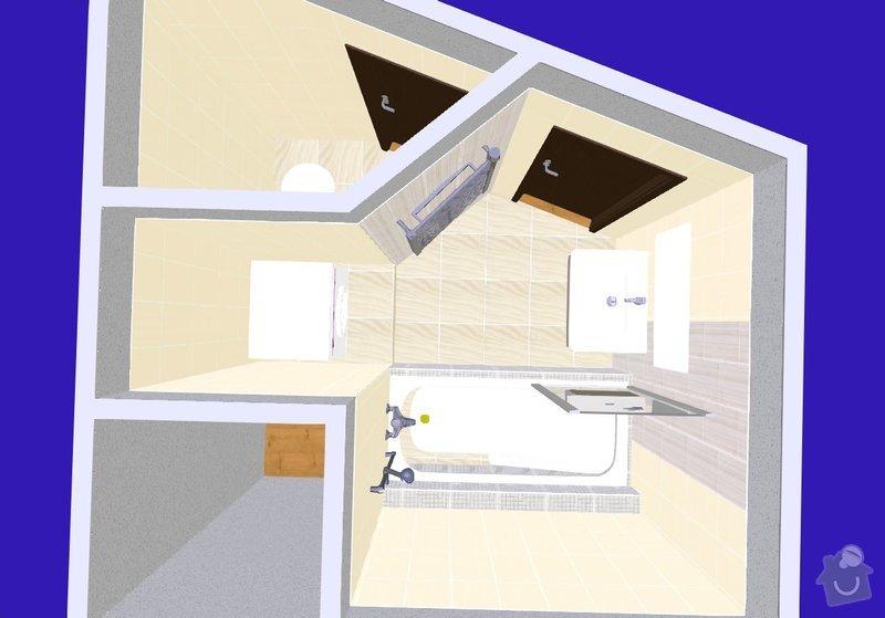 Rekonstrukce koupelny: S1