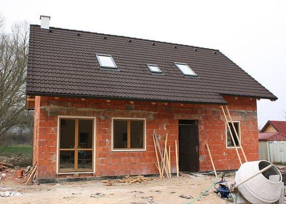 Položení střechy