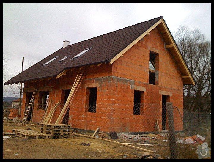 Položení střechy: dum-strecha