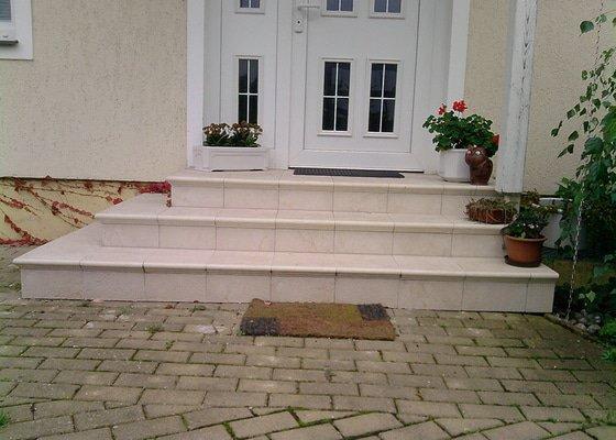 Plot z ztraceného bed. + obložení schodů