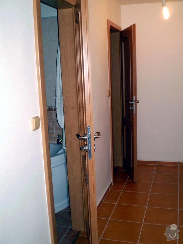 Kompletní dodávka dveří do bytu: PA020290