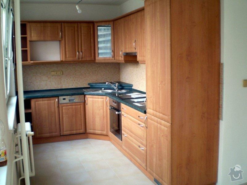 Návrh, dodání a montáž kuchyně: P7204224