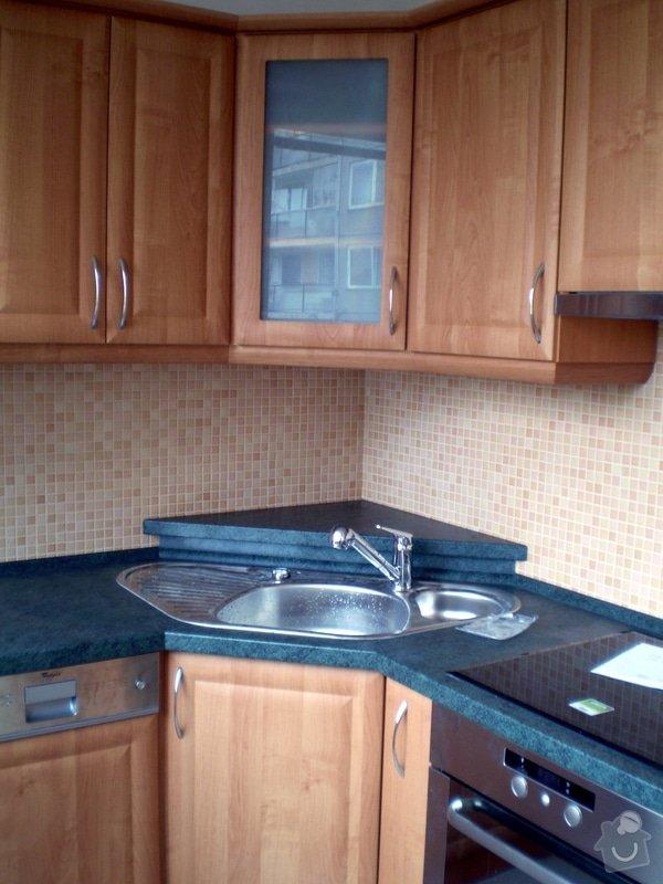 Návrh, dodání a montáž kuchyně: P7204225