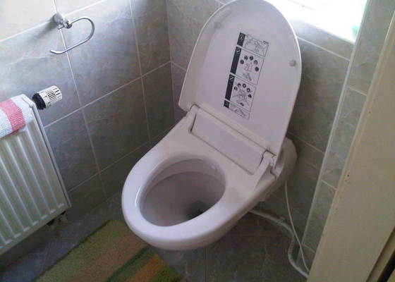WC bidetové sedátko