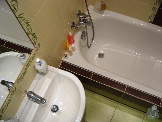 Vyrovnání stěn a obklad koupelny: 10598