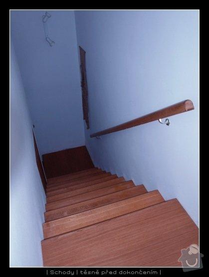 Dřevěné schody: schody1