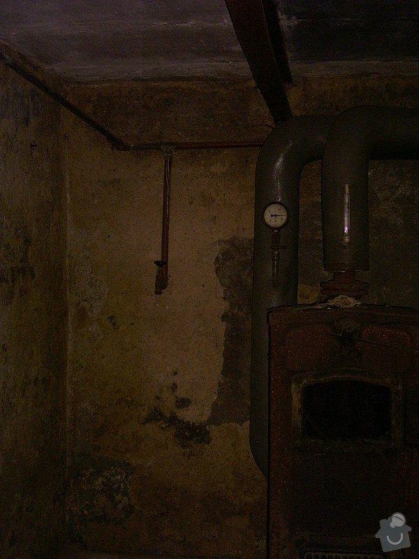 Modernizace kotelny, úprava vodo a elektroinstalace, obložení kuchyně: Kotelna-2_pred