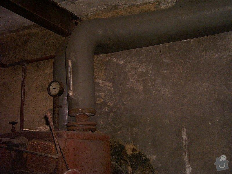 Modernizace kotelny, úprava vodo a elektroinstalace, obložení kuchyně: Kotelna-3_pred