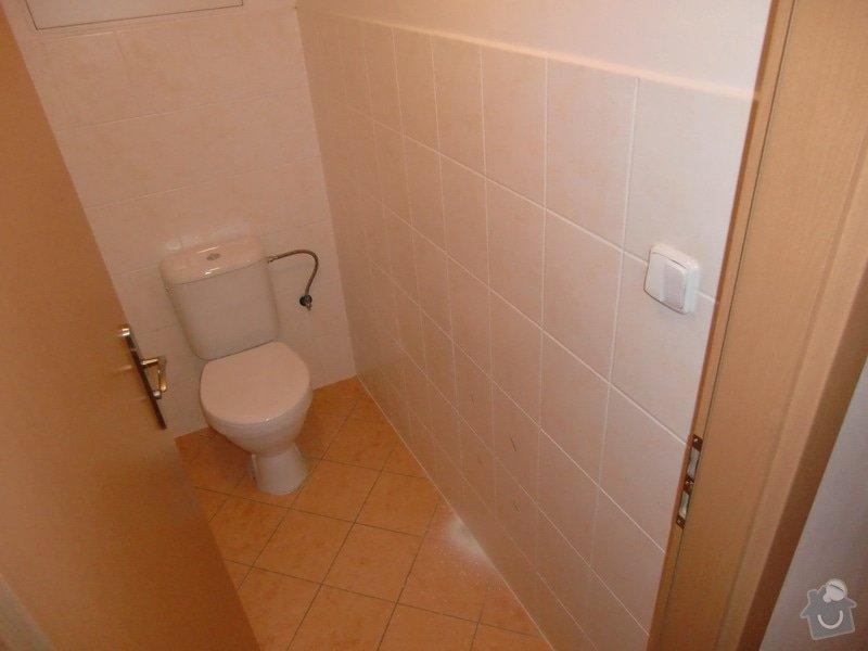 Instalace umyvadla s bidetovou baterií: toaleta_pred