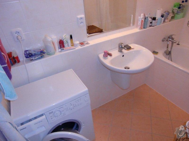 Instalace umyvadla s bidetovou baterií: koupelna_po