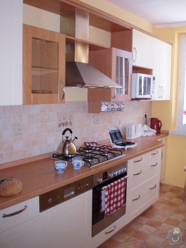 Příprava kuchyně na montáž nové linky: po2
