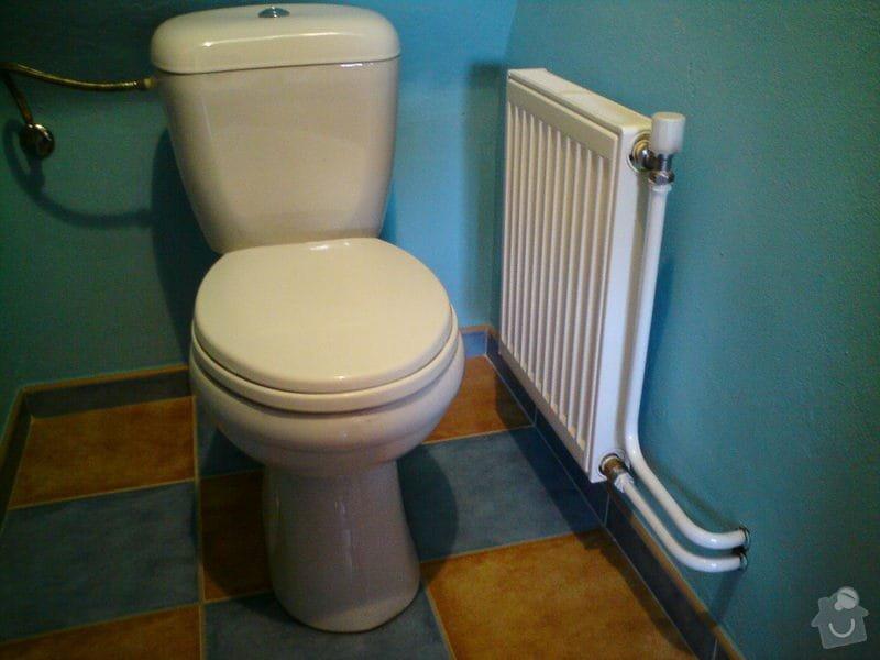 Výměna rozvodů teplé vody, studené vody, odpadů a otopného systému + výměna radiátorů a instalace vodního čerpadla: DSC00041