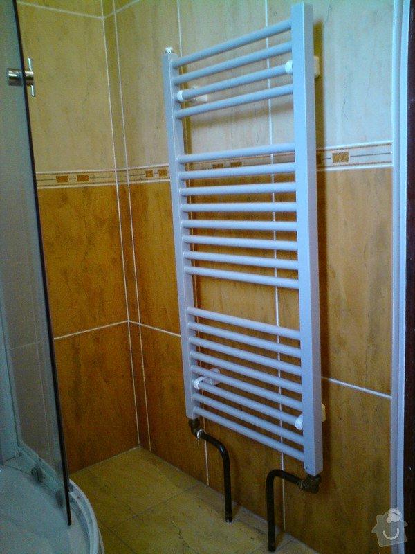 Výměna rozvodů teplé vody, studené vody, odpadů a otopného systému + výměna radiátorů a instalace vodního čerpadla: DSC00052
