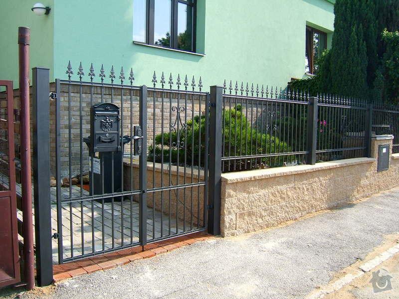 Kovaný plot a branka: zzz_064
