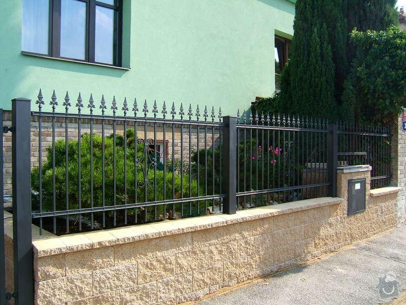 Kovaný plot a branka: zzz_067