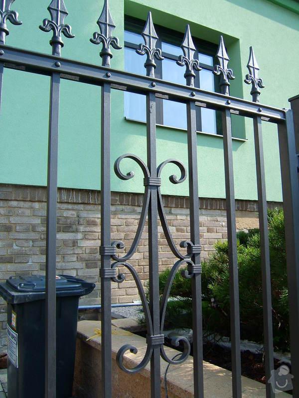 Kovaný plot a branka: zzz_065
